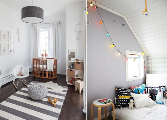Tendencias 2013 colores de moda para habitaciones - Habitaciones infantiles unisex ...