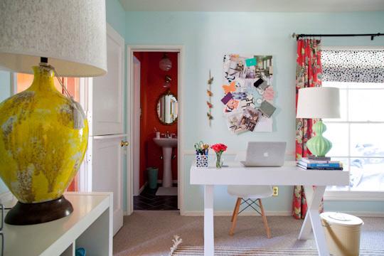 Tendencias 2013 un mini despacho integrado en otra - Despacho en el salon ...