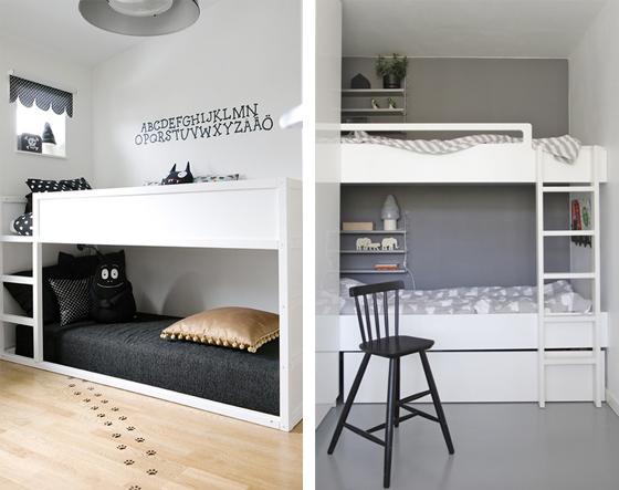 Habitaciones infantiles de ensue o kenay home - Habitacion con literas para ninos ...
