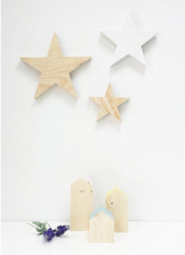 estrellas-de-madera