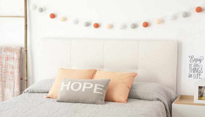 Cabezales de tela cabeceros de cama llamativos una vez - Cabezales de tela ...