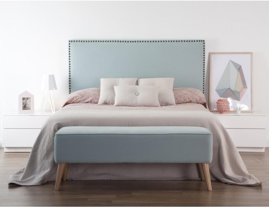 Cabeceros tapizados y de madera kenay home - Tapizar un cabecero de cama ...