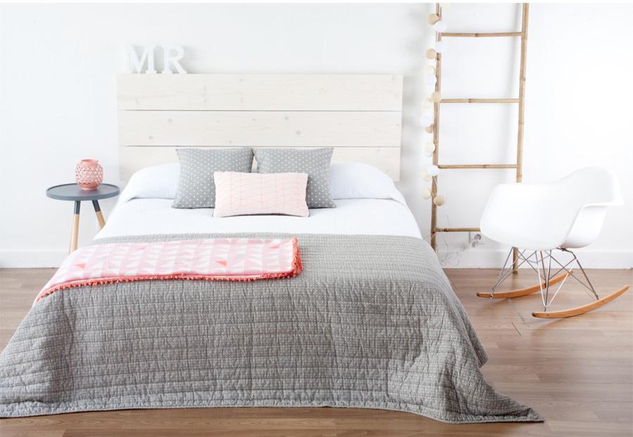 Cabeceros tapizados y de madera kenay home for Cabecero cama 90 blanco