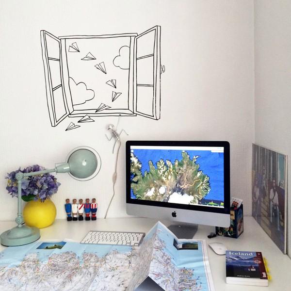 Decora tus paredes con vinilos decorativos kenay home - Vinilos decorativos valencia ...
