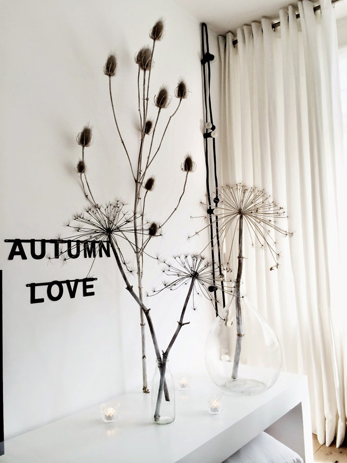 otoño flores