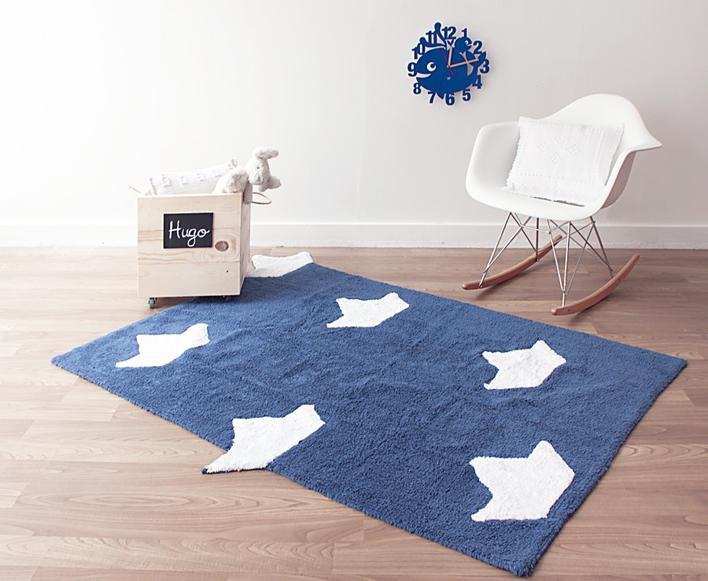 alfombra barquitos