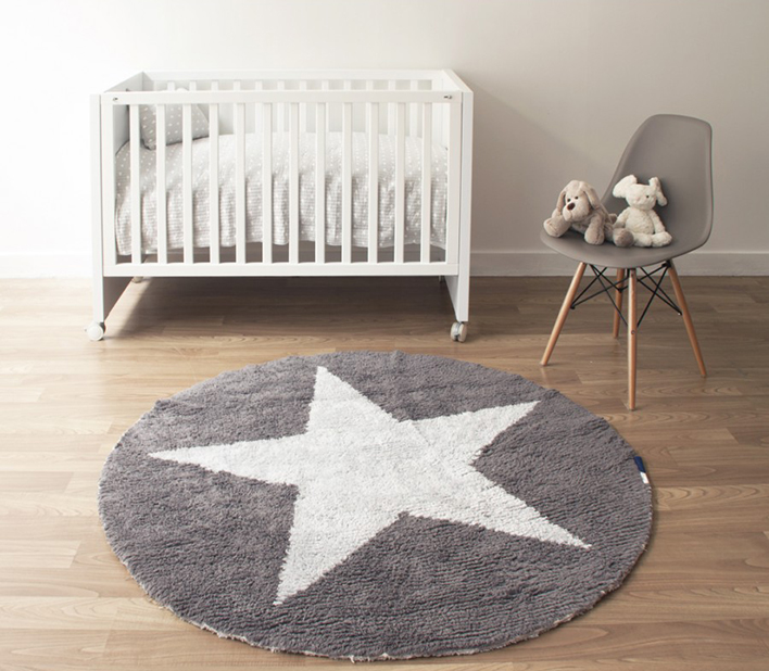 Estrella moderna decoraci n casa kenay home kenay home - Alfombras redondas infantiles ...