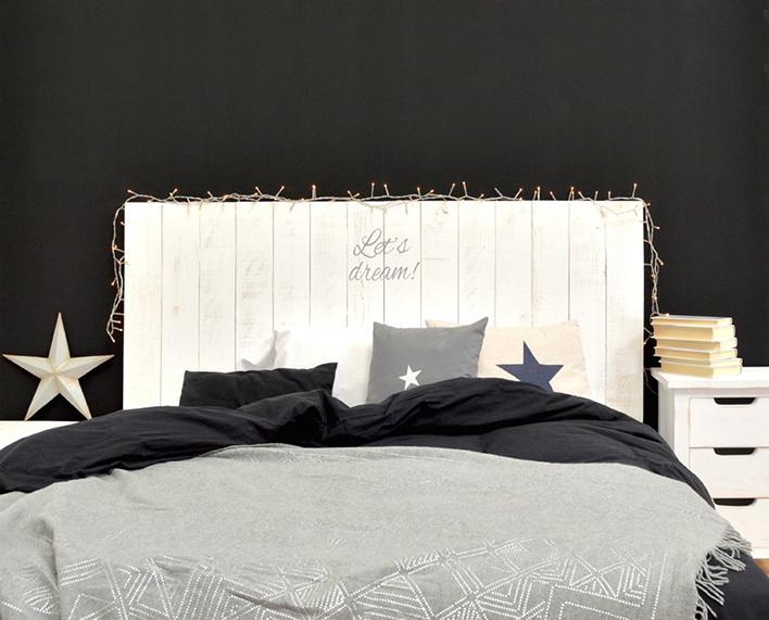 Muebles y decoraci n hechos a mano para decorar el - Cabeceros originales hechos a mano ...