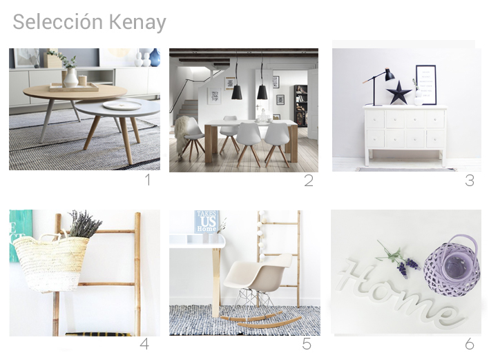 selección kenay blanco-madera