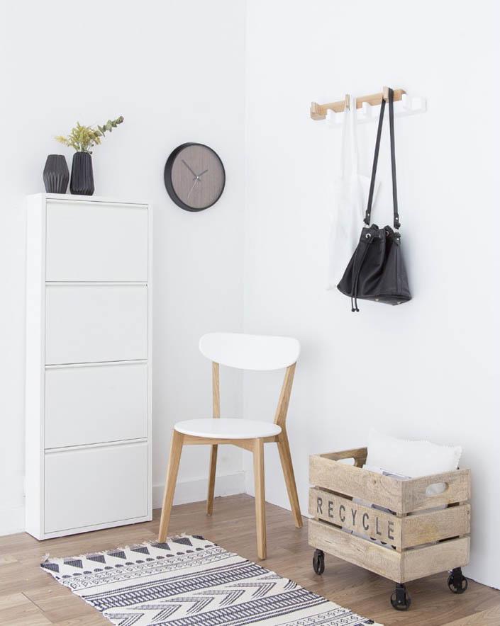 Ideas para la entrada de tu casa kenay home for Entraditas con zapatero