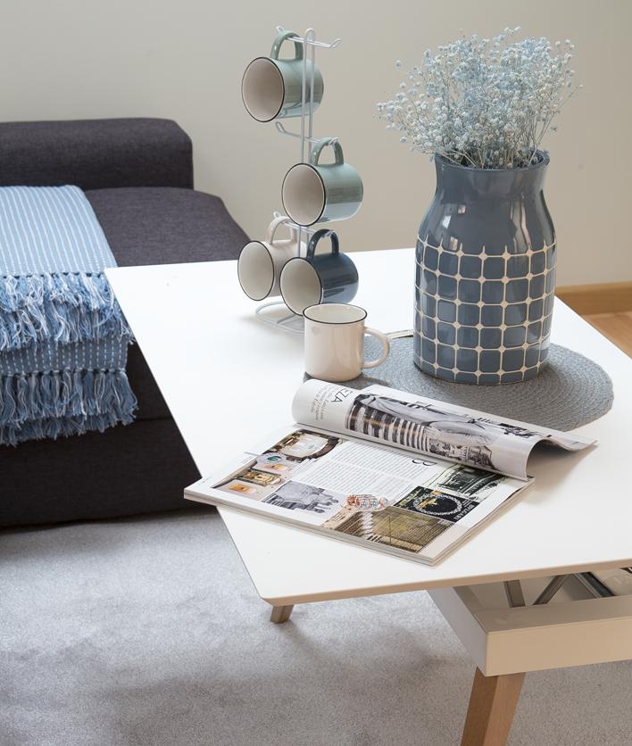 Hogares kenay un tico con estilo n rdico kenay home for Mesa centro estilo nordico