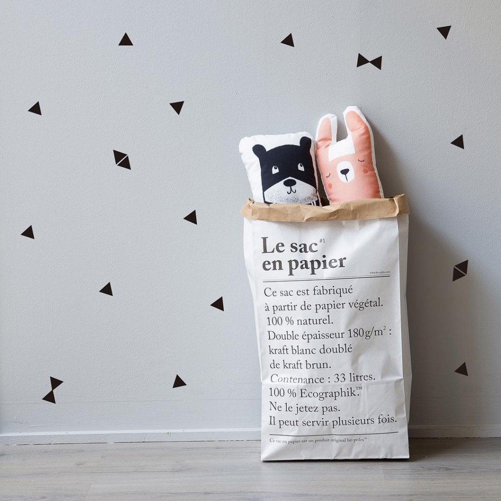 Nuestra Paper Bag es ideal para organizar los juguetes dehellip