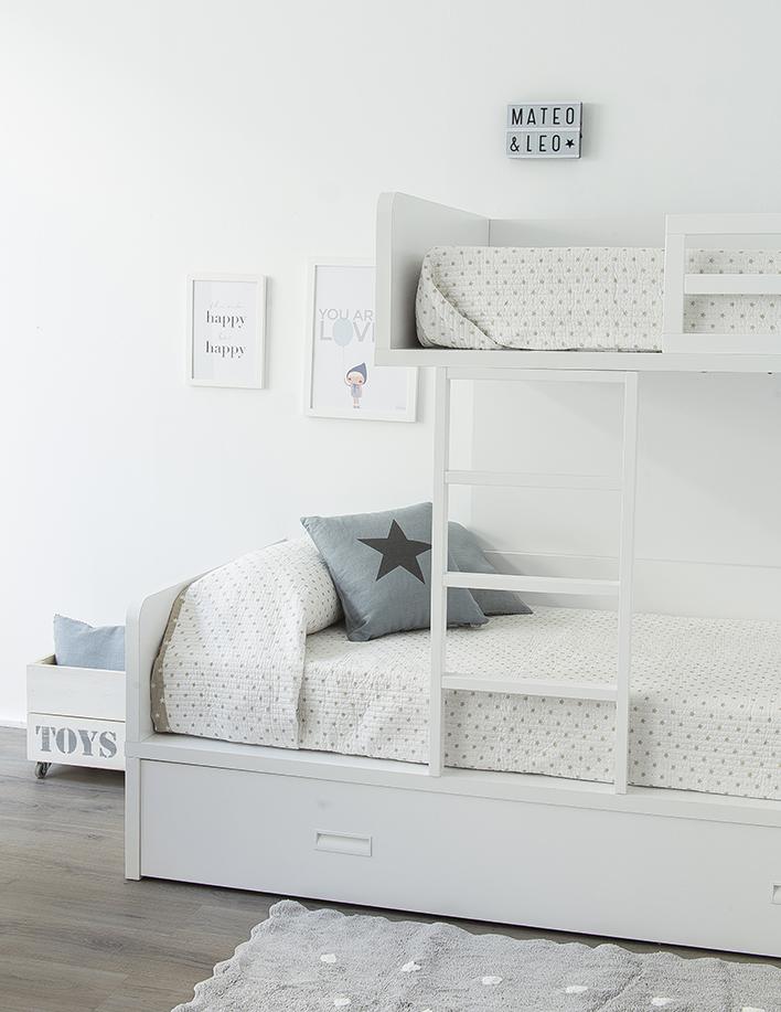 5 habitaciones infantiles para no dejar de so ar kenay home - Habitaciones infantiles blancas ...