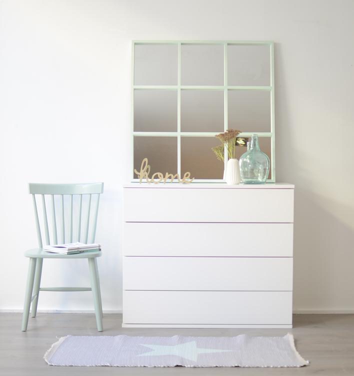 sobre una cmoda o aparador tambin puede ser un buen lugar para colocar un espejo elige un tamao mayor para estos muebles el espejo luci de cm