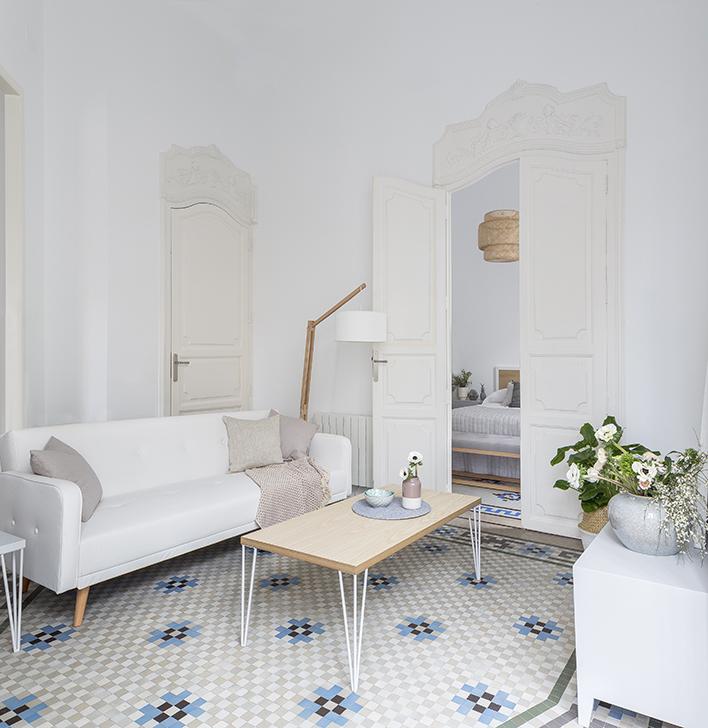 hogares kenay un piso con un encanto especial kenay home. Black Bedroom Furniture Sets. Home Design Ideas