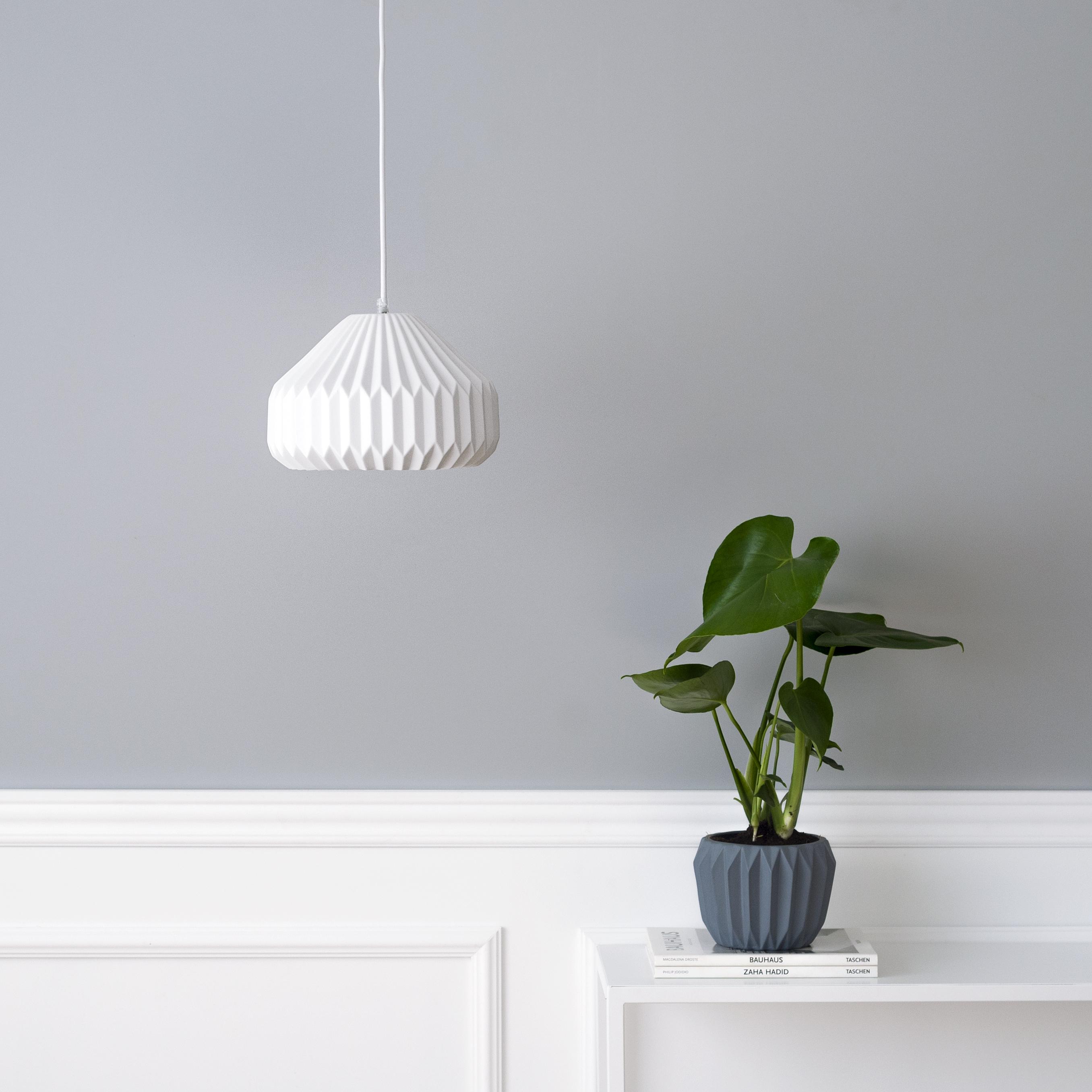 BLO-10158 Origami lámpara de techo 01