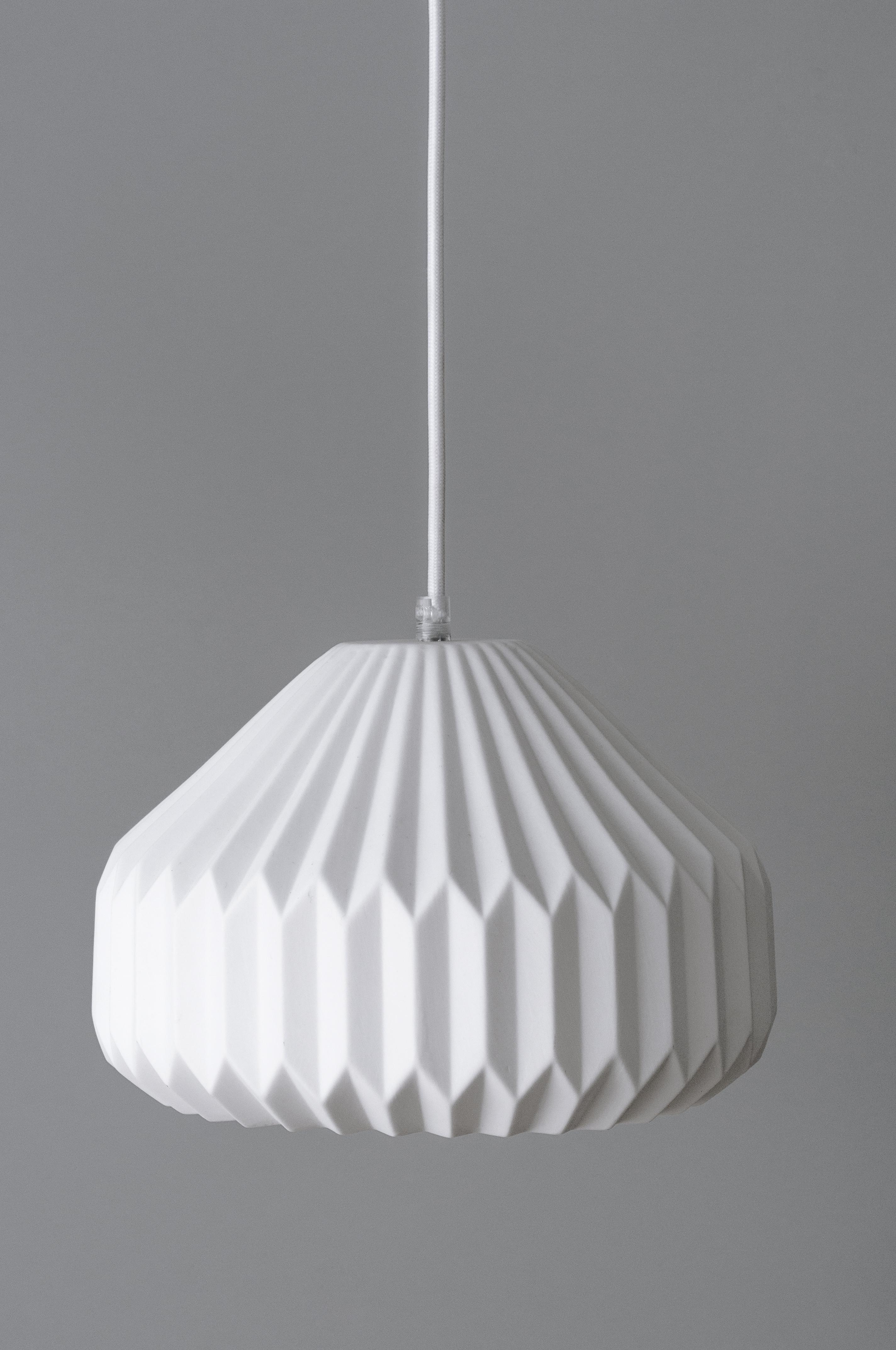 BLO-10158 Origami lámpara de techo 02