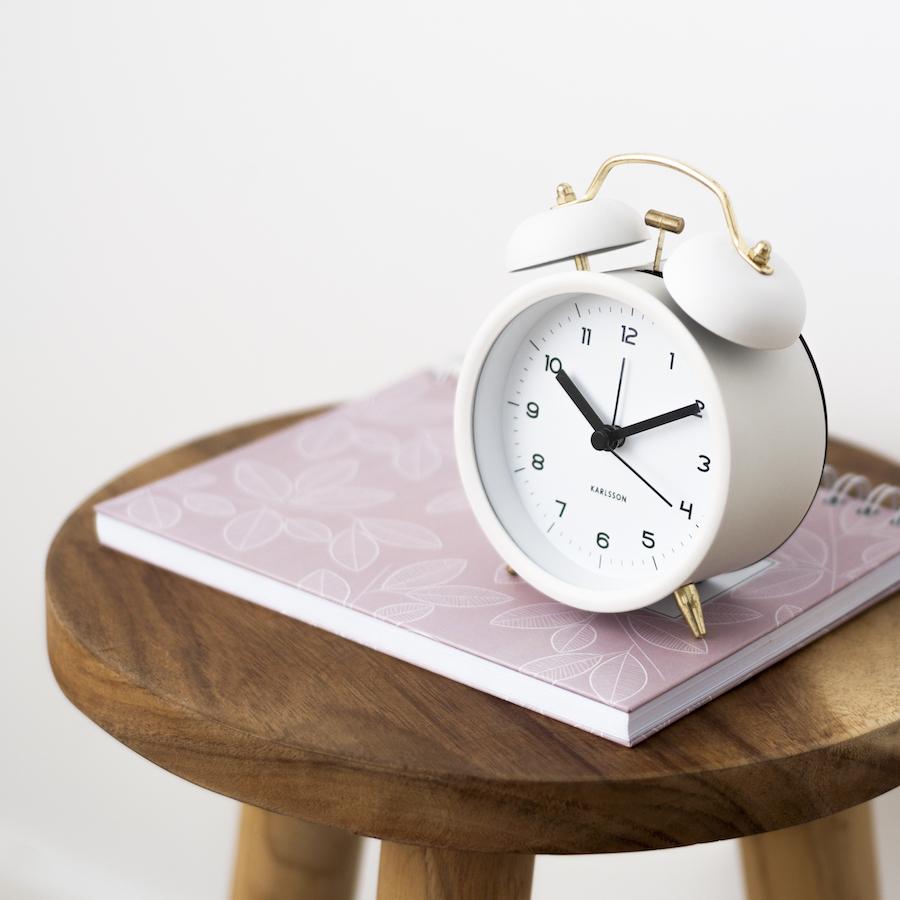 KP-1258BL Bell reloj blanco 02