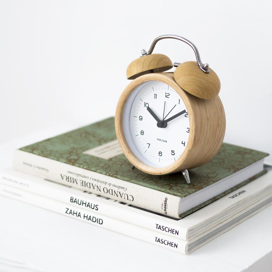 KP-1260MA Bell reloj madera 02