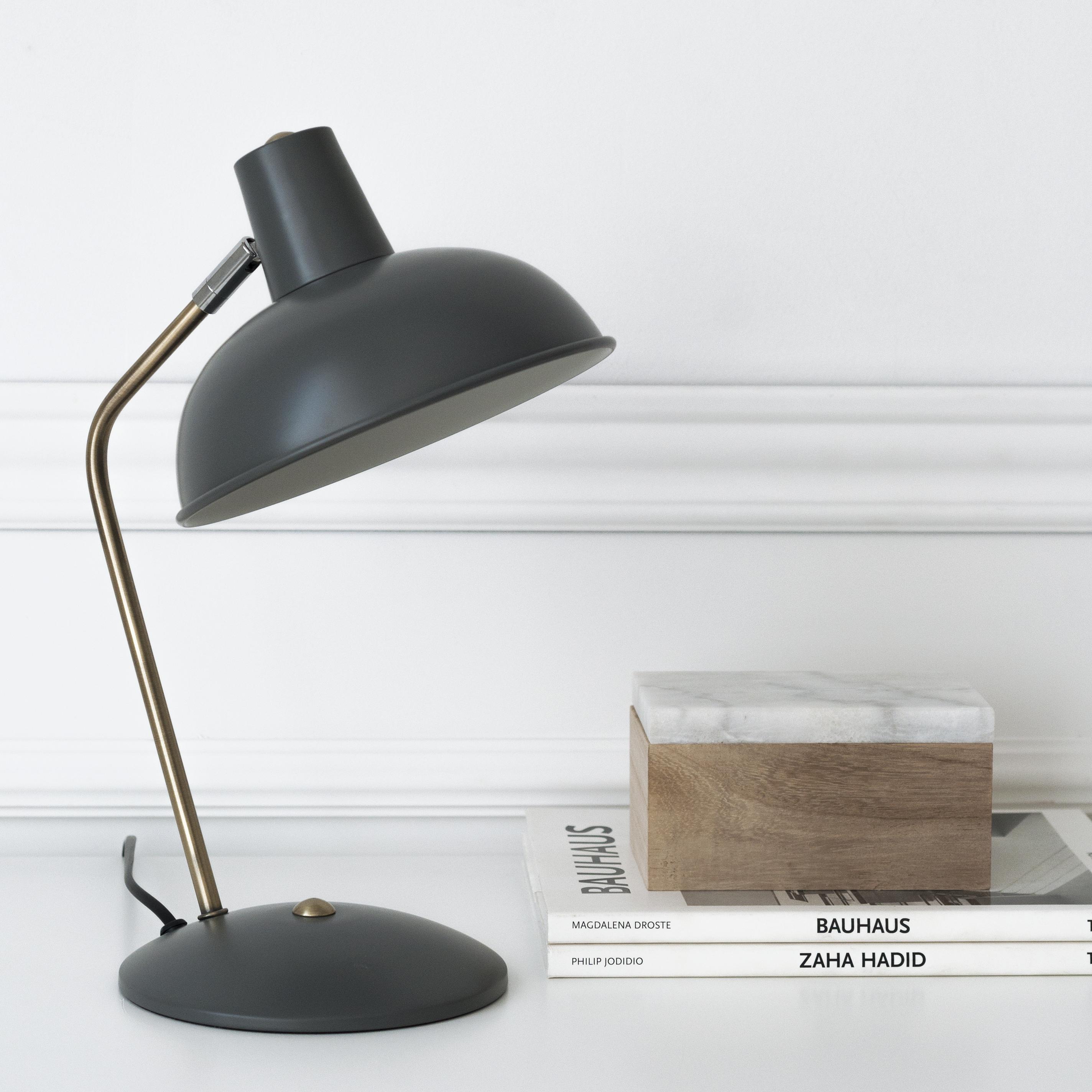 KP-1268GR Retro lámpara de mesa gris 02