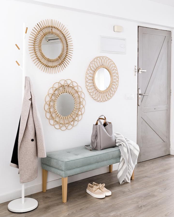 Tips para decorar tu recibidor kenay home for Kenay home espejos